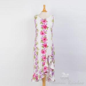 TPCHW ツーパームス・ミドルレングスドレス ホワイト