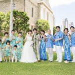 家族でお揃い ハワイ結婚式