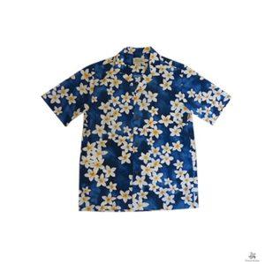Royal Hawaiian Creations プルメリア柄 アロハシャツ AL055