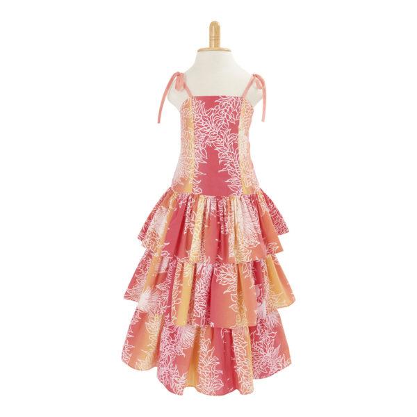 3段のドレス