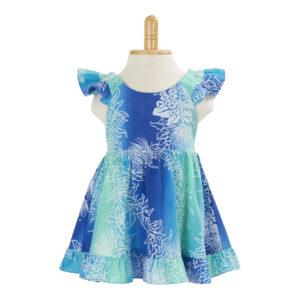 KIDS06 子供服ガールズドレス/グリーン