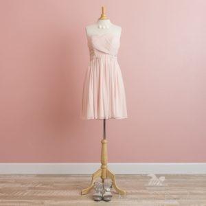 ブライズメイドドレス・ショート・ピンク
