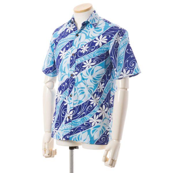 ムームーレインボー オリジナル ハワイアンアロハシャツ