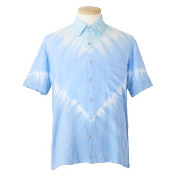 アロハシャツレンタル水色