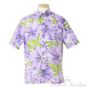 ハワイアンアロハシャツ ハイビスカス