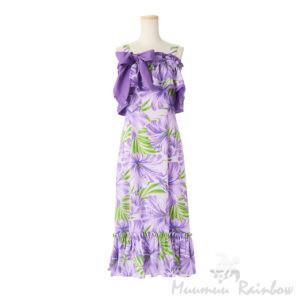 ハワイアン4WAYドレス・パープル